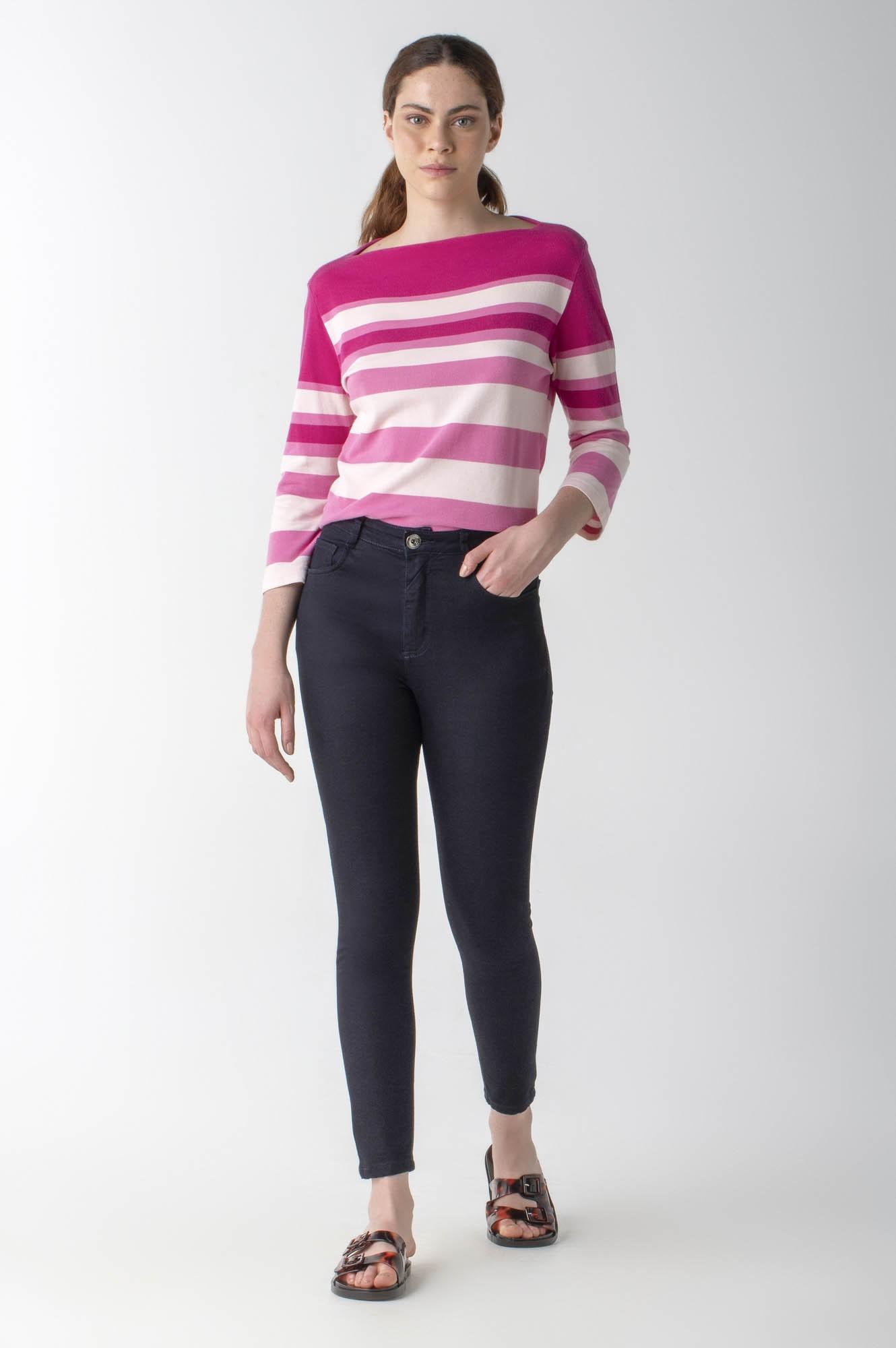 Calça jeans skinny cós alto - Daily