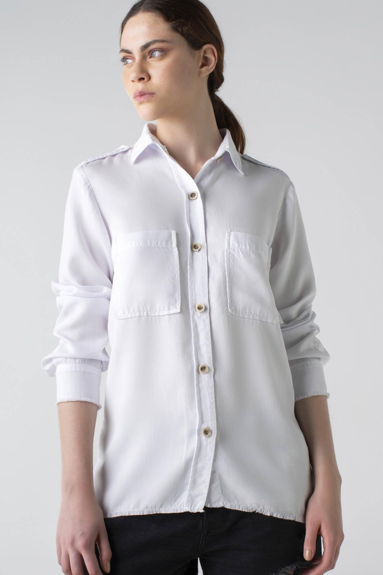 Camisa sarja slim - Wave