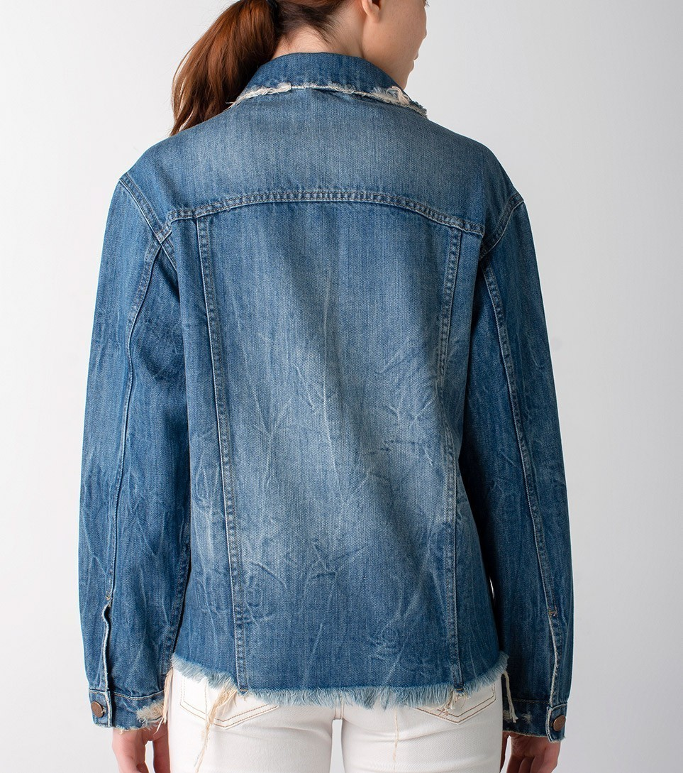 Jaqueta jeans over size - Wave