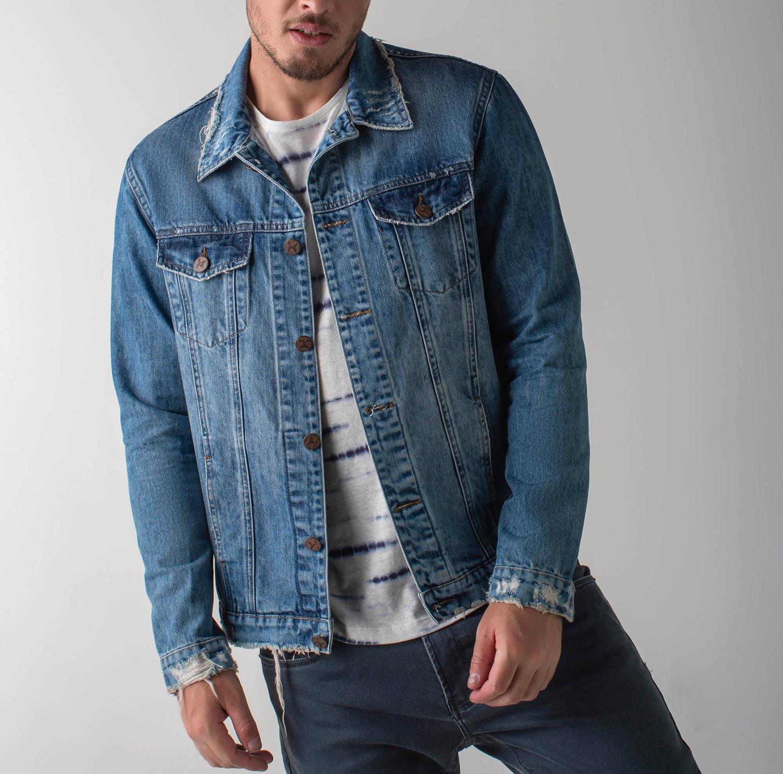 Jaqueta jeans slim - Wave
