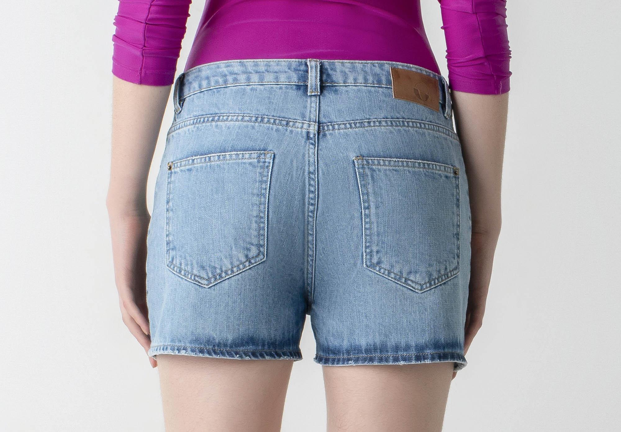Shorts jeans boyfriend - Wave