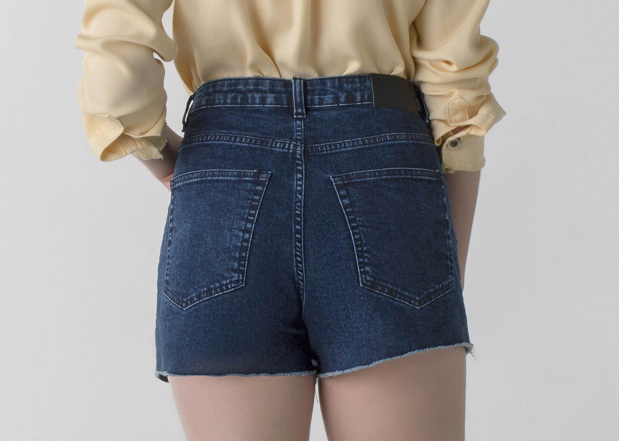 Shorts jeans cós alto - Daily