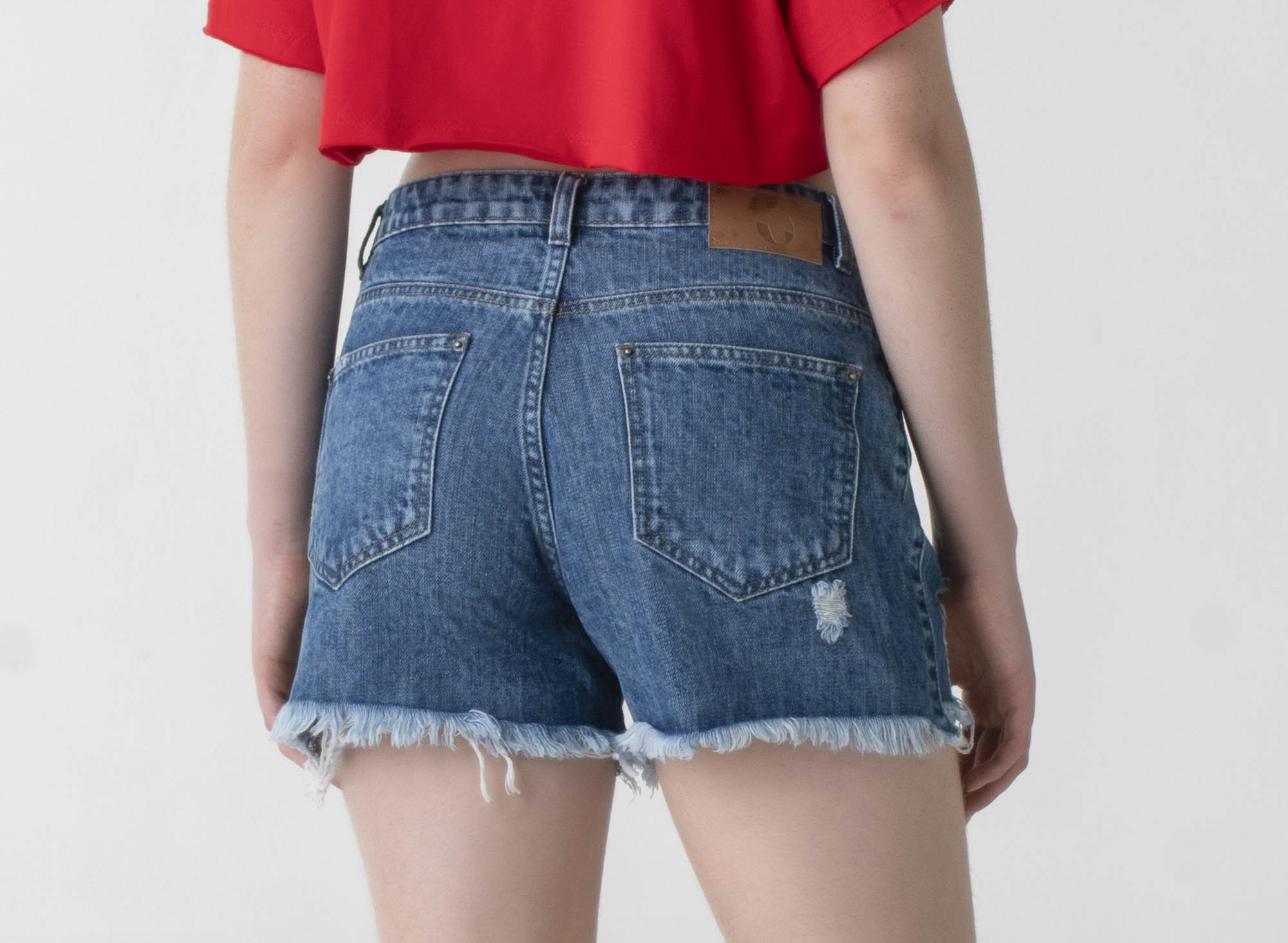 Shorts jeans curto - Wave
