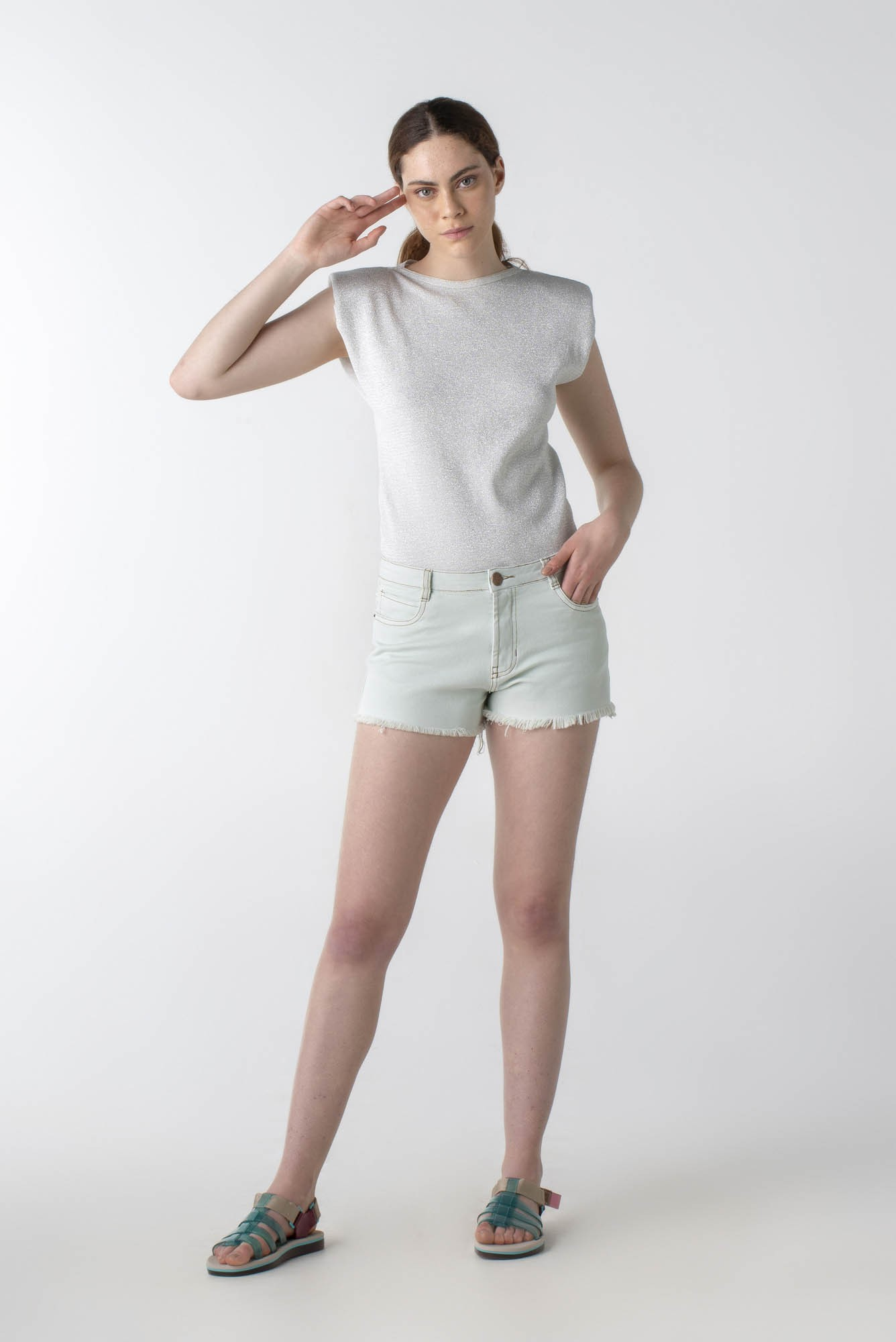 Shorts sarja curto - Wave