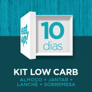 Kit 10 dias low carb - cetogênicas