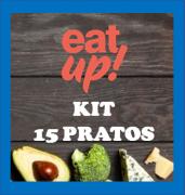 Kit 15 refeições low carb - cetogênicas