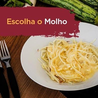 Espaguete de Pupunha com Molho - Low Carb Cetogênico