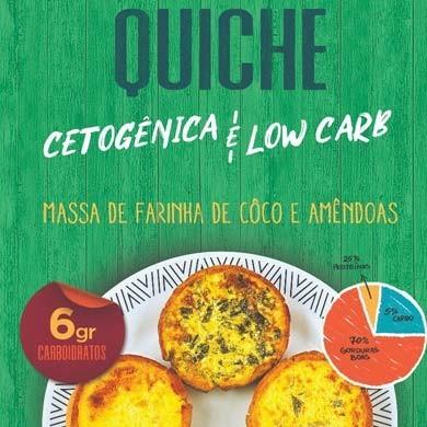 Quiche - Low Carb Cetogênico