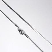 Colar - Corrente Rabo de Rato Achatado 0.3 23-0021