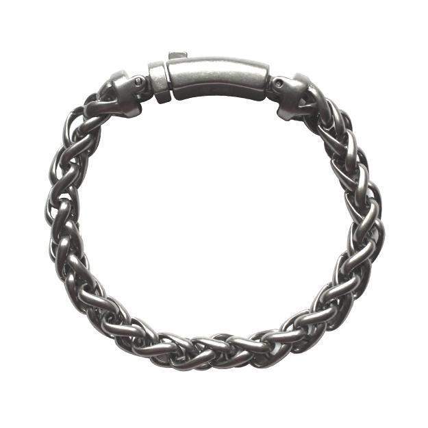 Pulseira Aço Cirúrgico Weave 24-0025