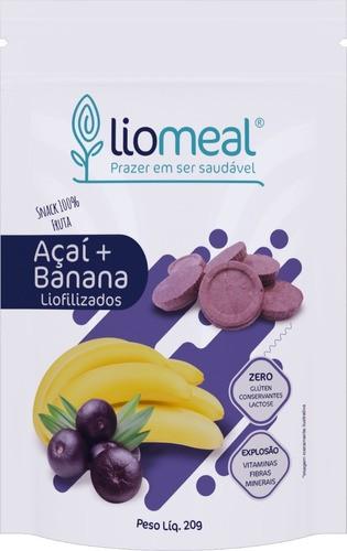 Kit com 5 Snacks Saudáveis de Açaí com Banana