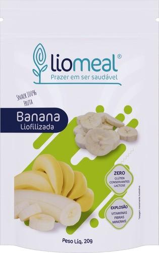Kit com 5 Snacks Saudáveis de Banana