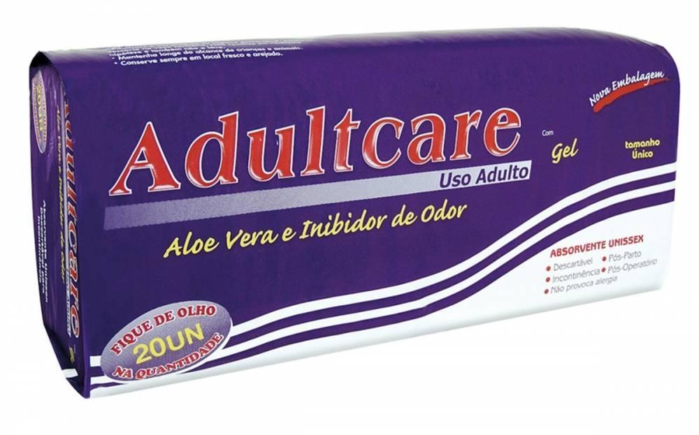 ABSORVENTE ADULTCARE UNISSEX C/ 20 UN