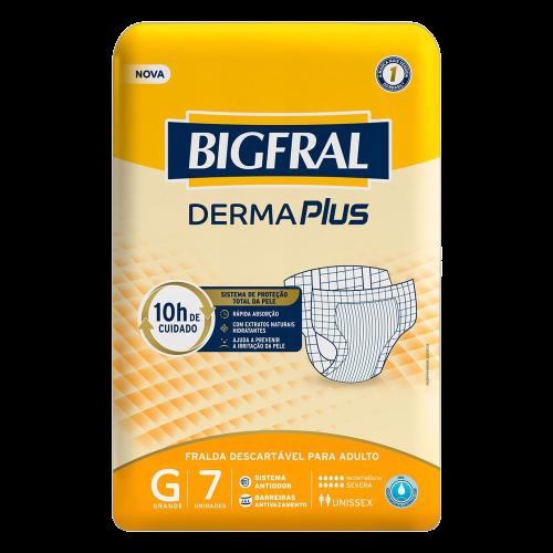 BIGFRAL DERMA PLUS G C/7 UN