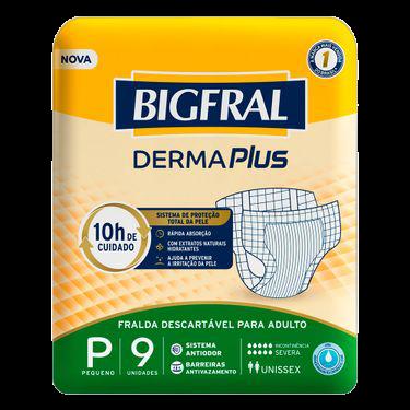 BIGFRAL DERMA PLUS P C/9 UN