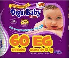 DIGUIBABY PLUS EG C/ 60 UN