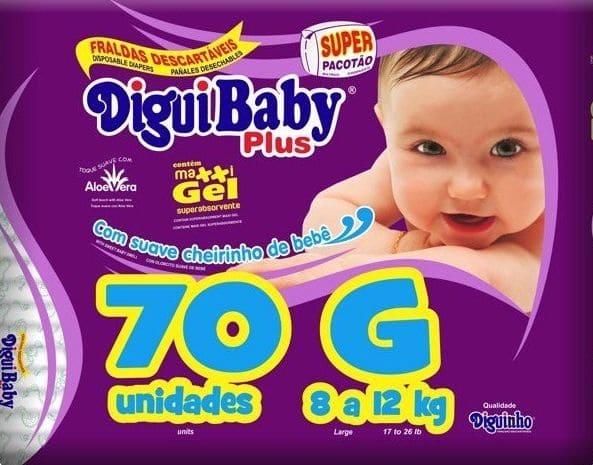 DIGUIBABY PLUS G C/ 70 UN