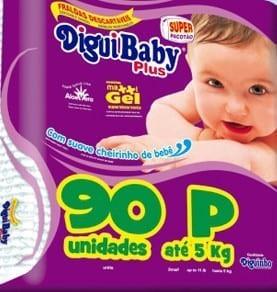 DIGUIBABY PLUS P C/ 90 UN