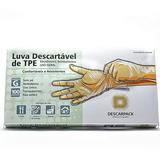 LUVA TPE FLEX DESCARPACK - G C/ 100 UN