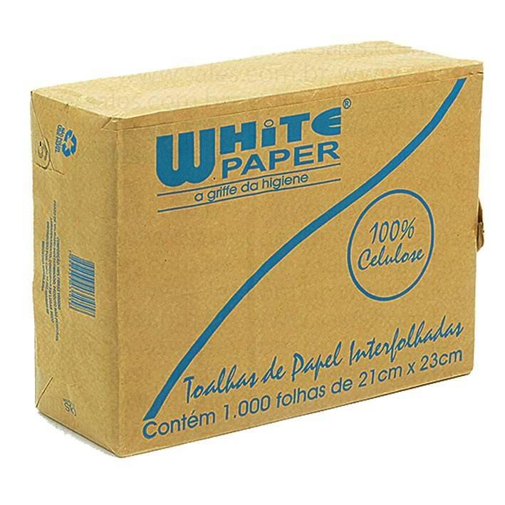 PAPEL INTERFOLHA WHITE PAPER 100% CELULOSE C/ 1.000 UN