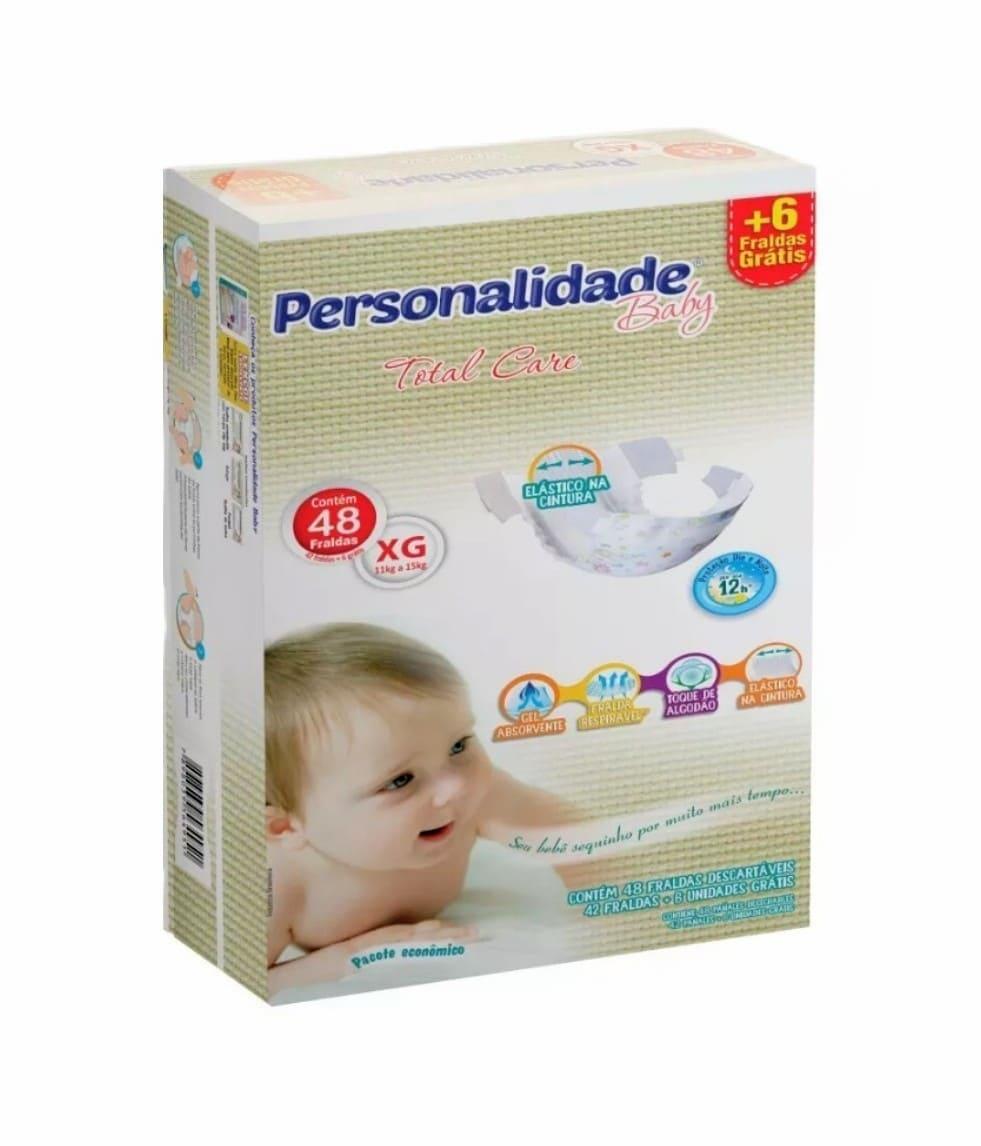 PERSONALIDADE BABY TOTAL CARE TAMANHO EG C/ 42+6 UN