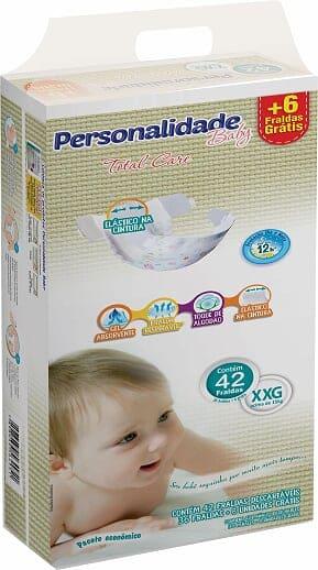PERSONALIDADE BABY TOTAL CARE TAMANHO XEG C/ 36+6 UN
