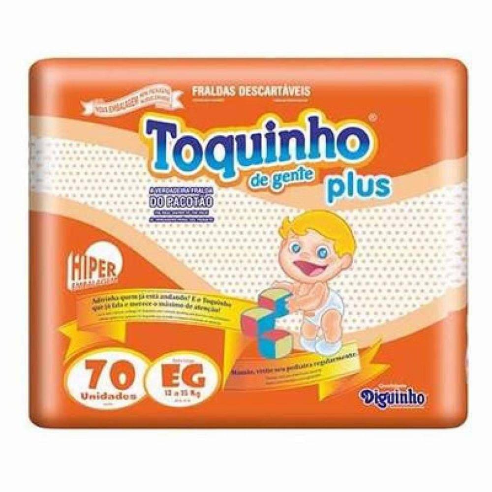 TOQUINHO PLUS EG C/ 70 UN