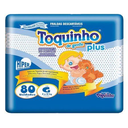 TOQUINHO PLUS G C/ 80 UN