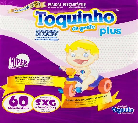 TOQUINHO PLUS XEG C/ 60 UN
