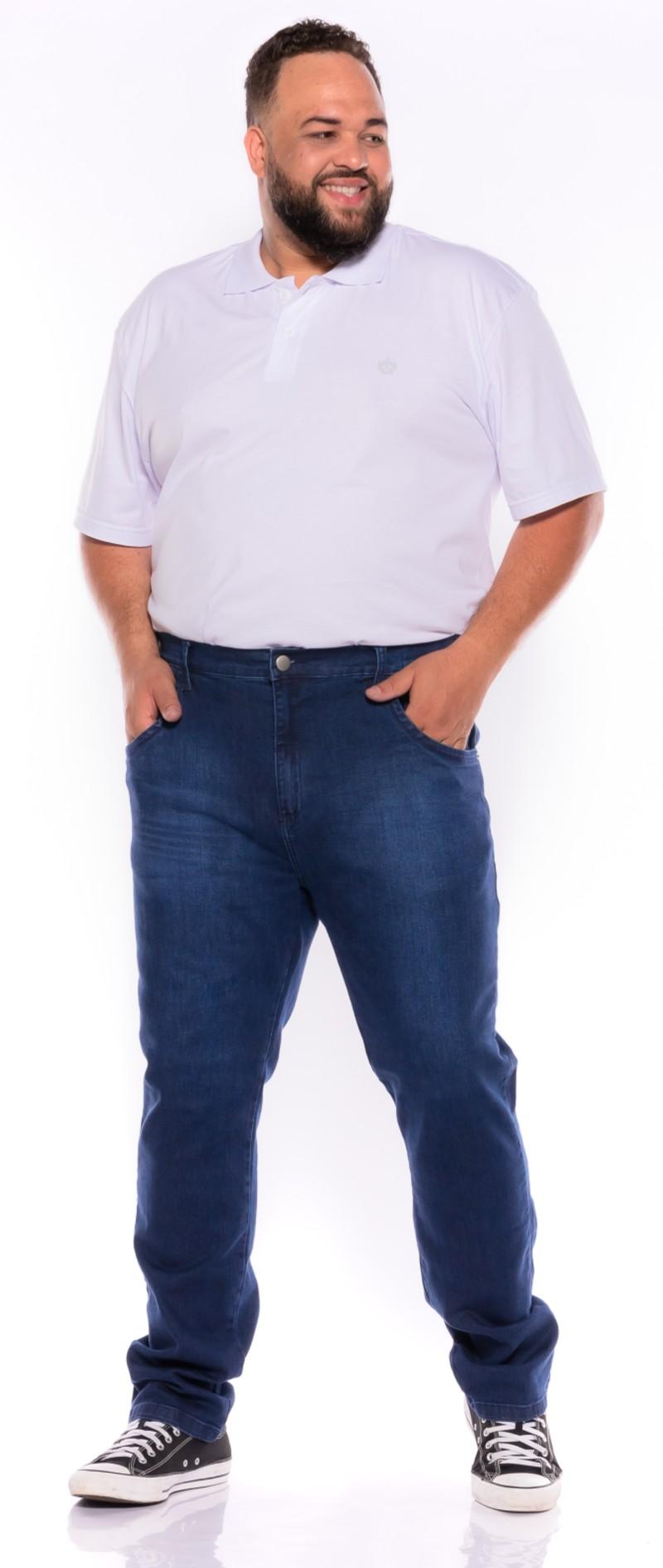Calça Jeans plus size Stone