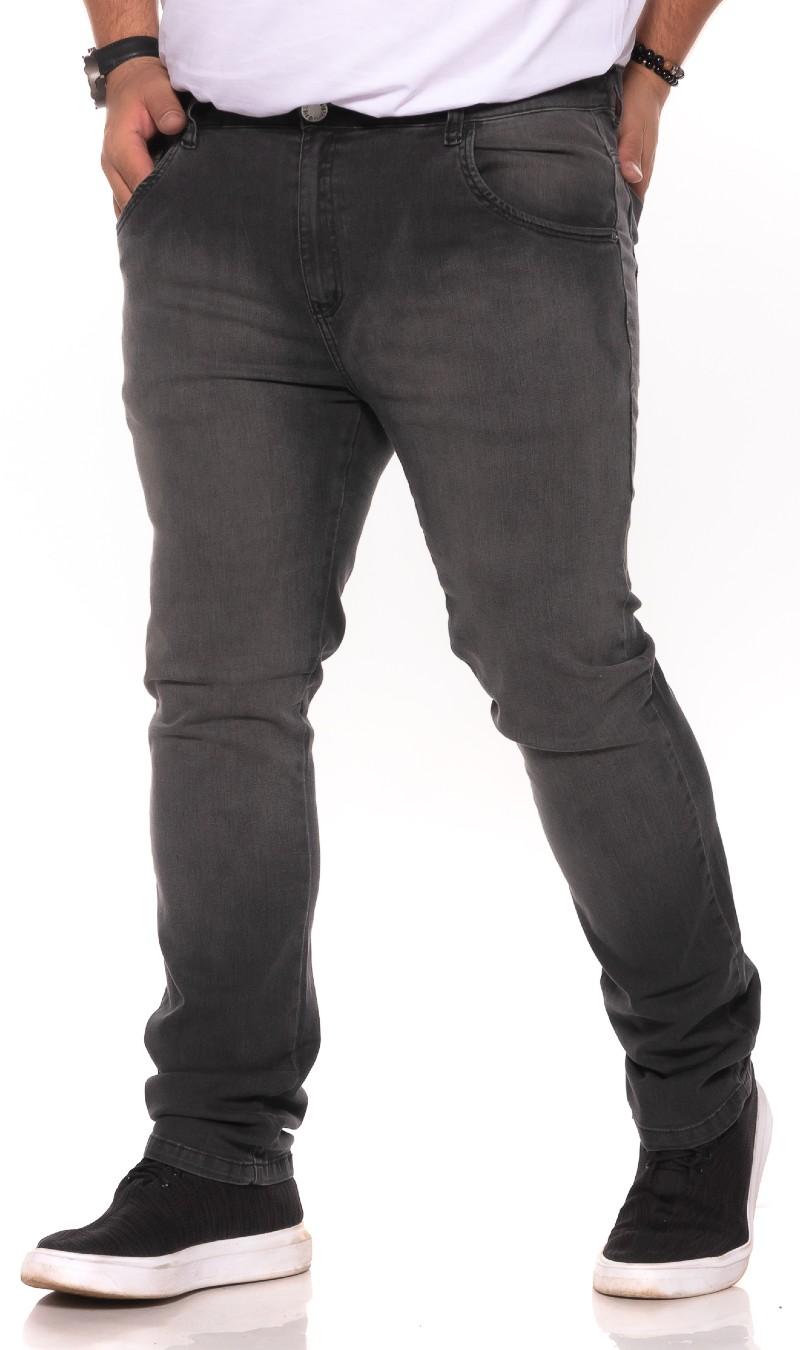 Calça Jeans plus size Preta Used