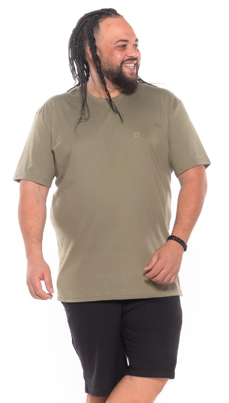 Camiseta plus size Bambu