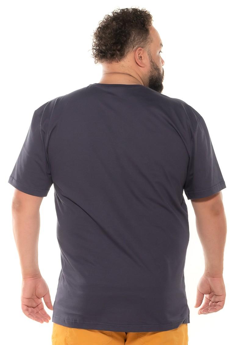Camiseta plus size Braves Grafite