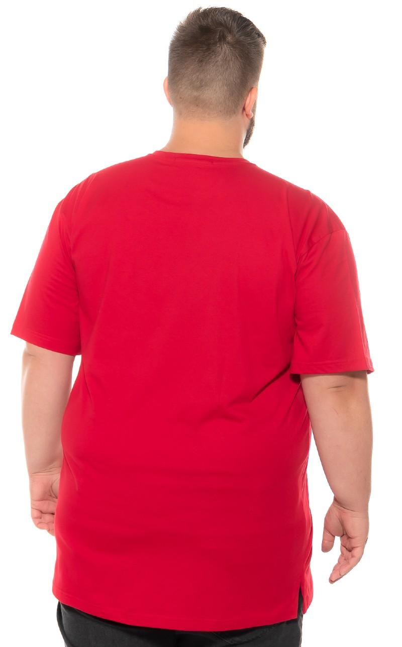 Camiseta plus size Detroit Vermelha