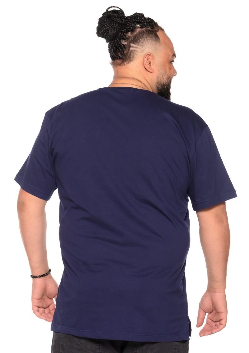 Camiseta plus size Outsider Azul Marinho