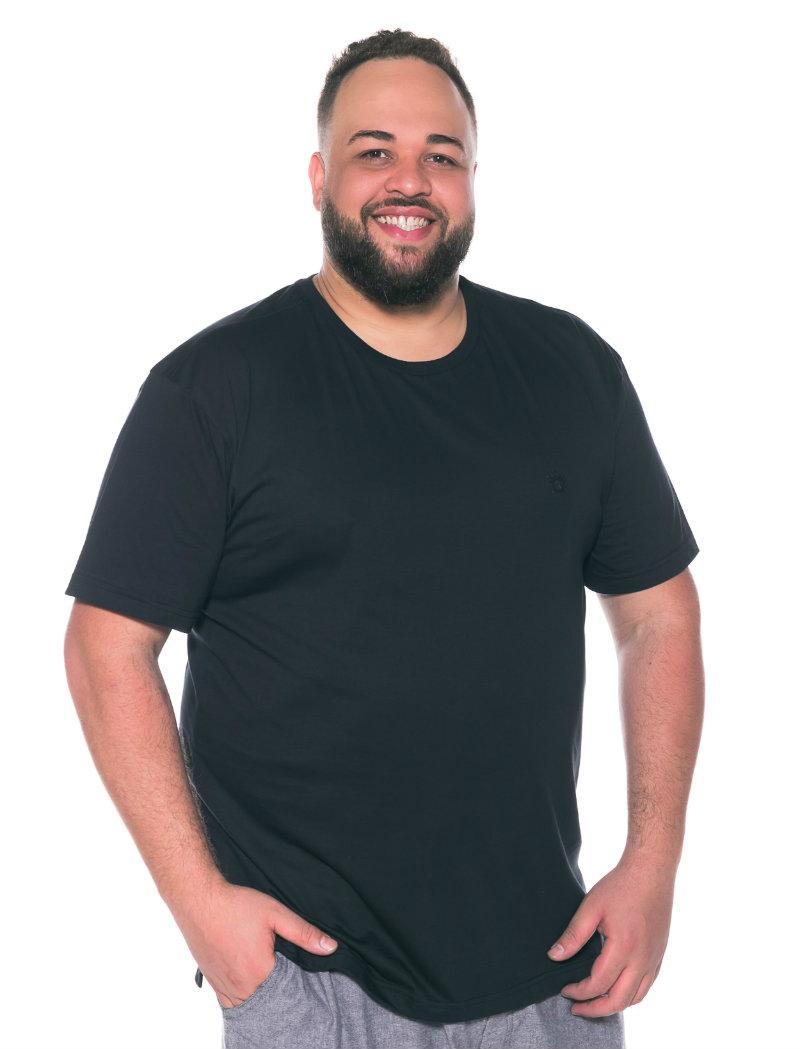 Camiseta plus size Preta