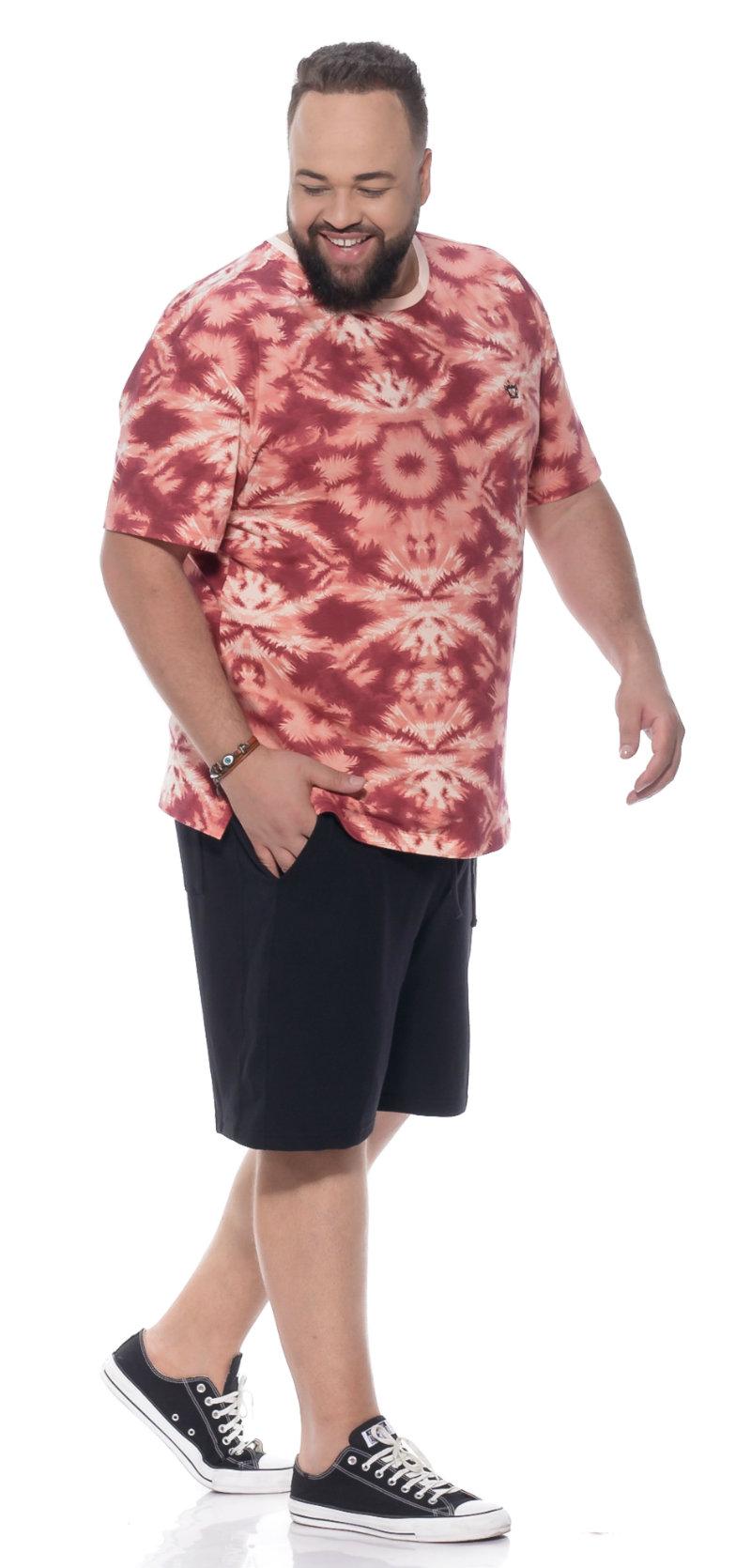Camiseta plus size Tie Day