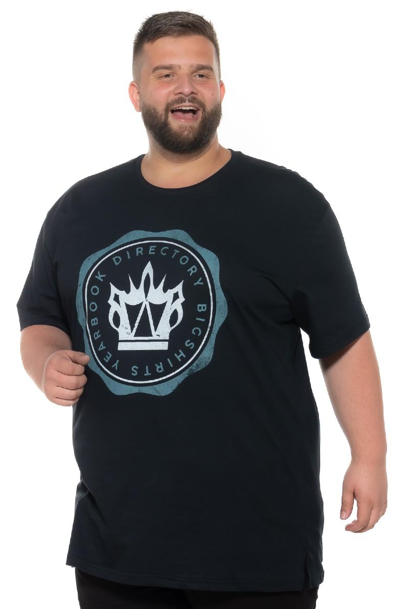 Camiseta plus size Yearbook Preta