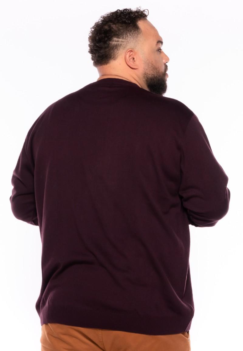Malha Suéter plus size Uva