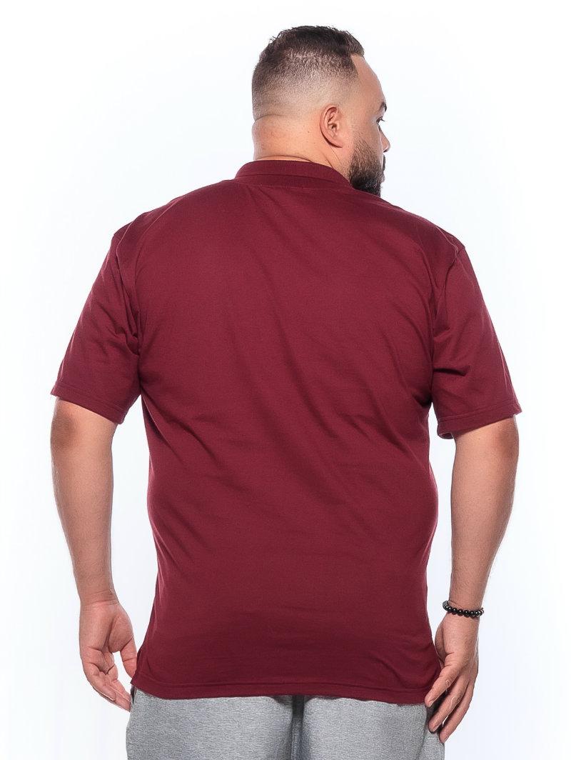 Polo plus size Vinho