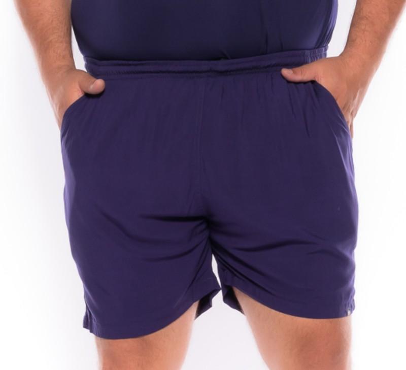 Shorts plus size Summer Azul Marinho