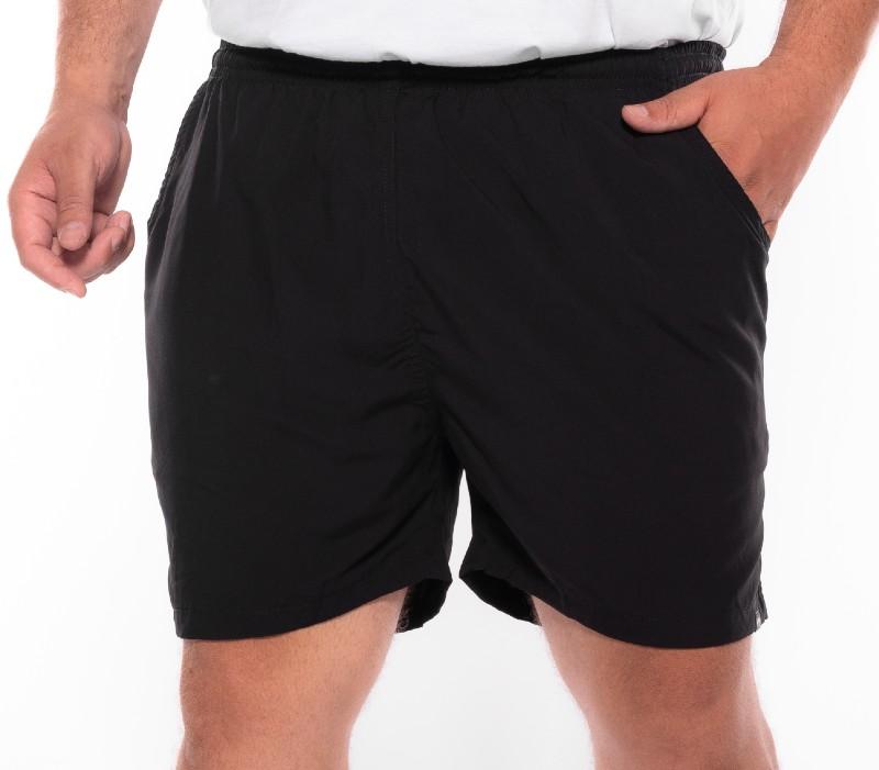 Shorts plus size Summer Preto