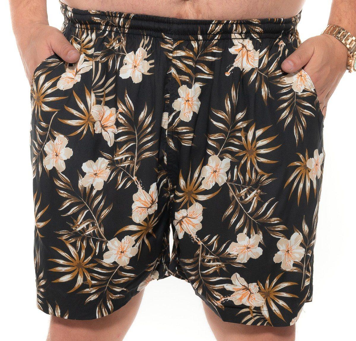 Shorts plus size Summer Viscose Bora