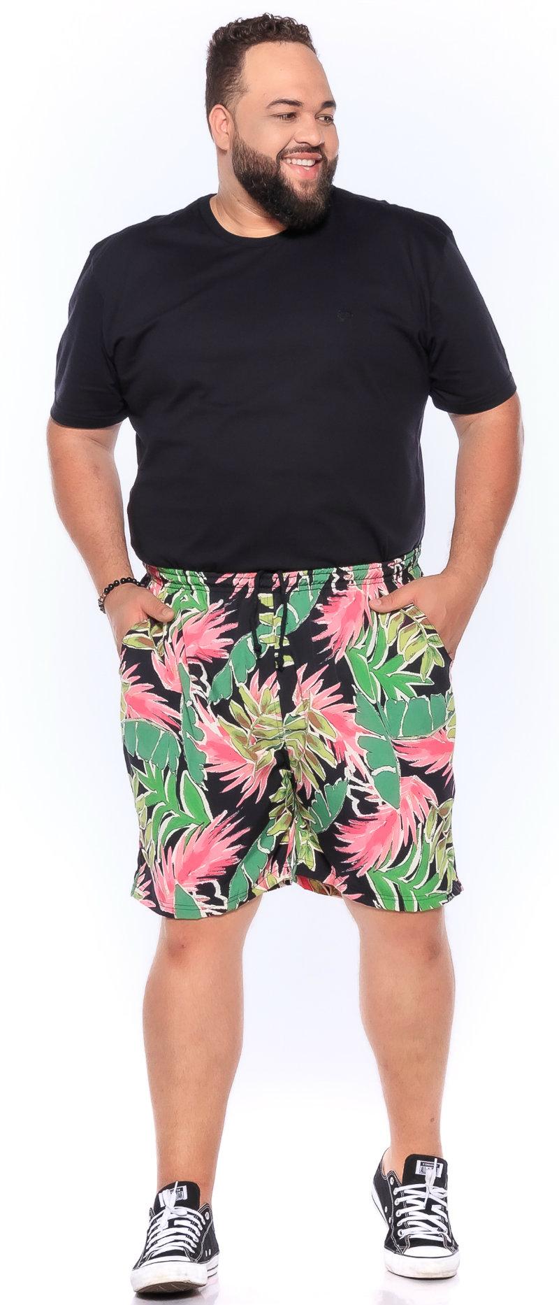 Swim Shorts plus size Praia Cancun