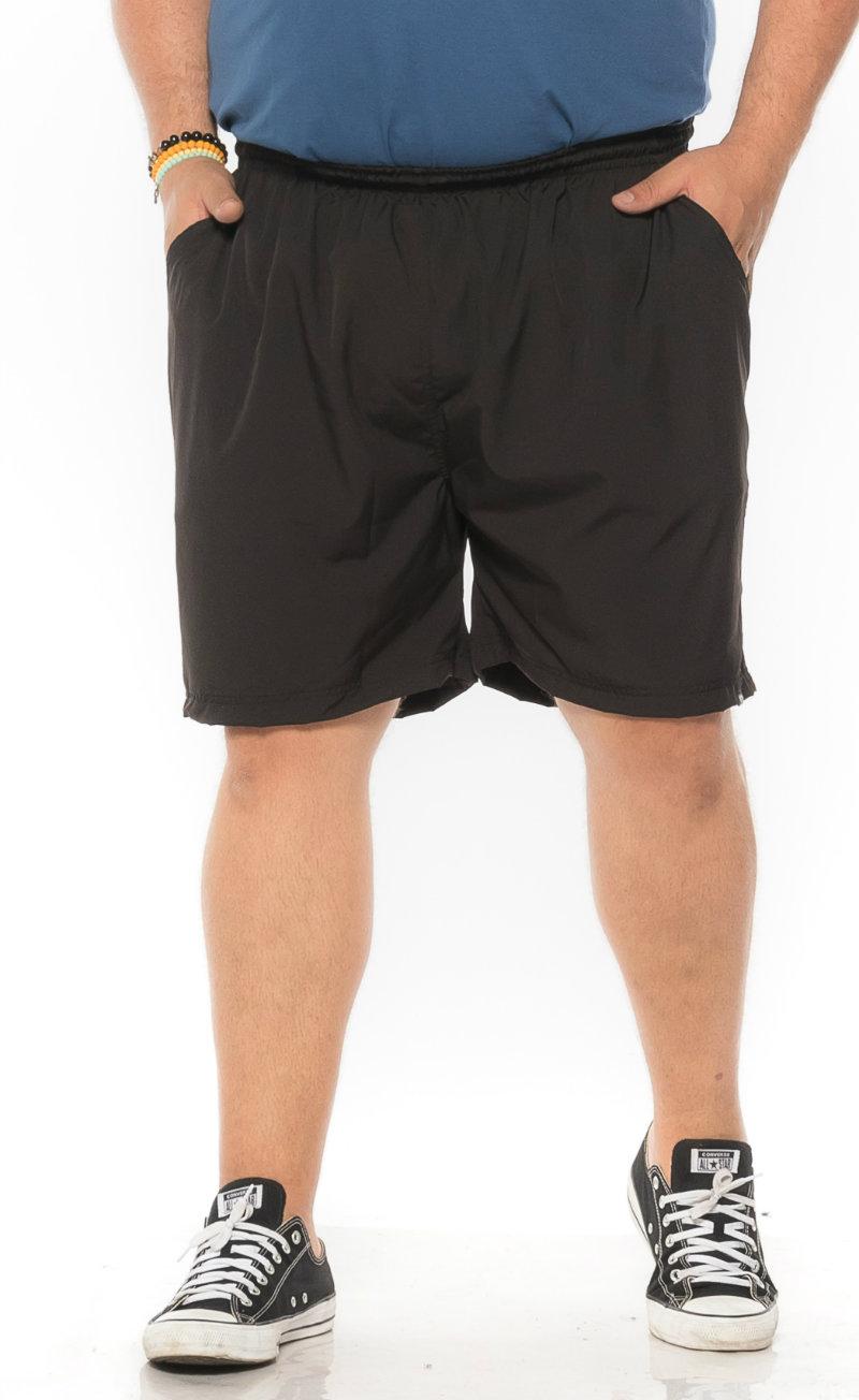 Swim Shorts plus size Praia Preto