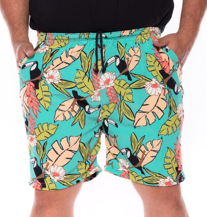 Swim Shorts plus size Praia Tucan