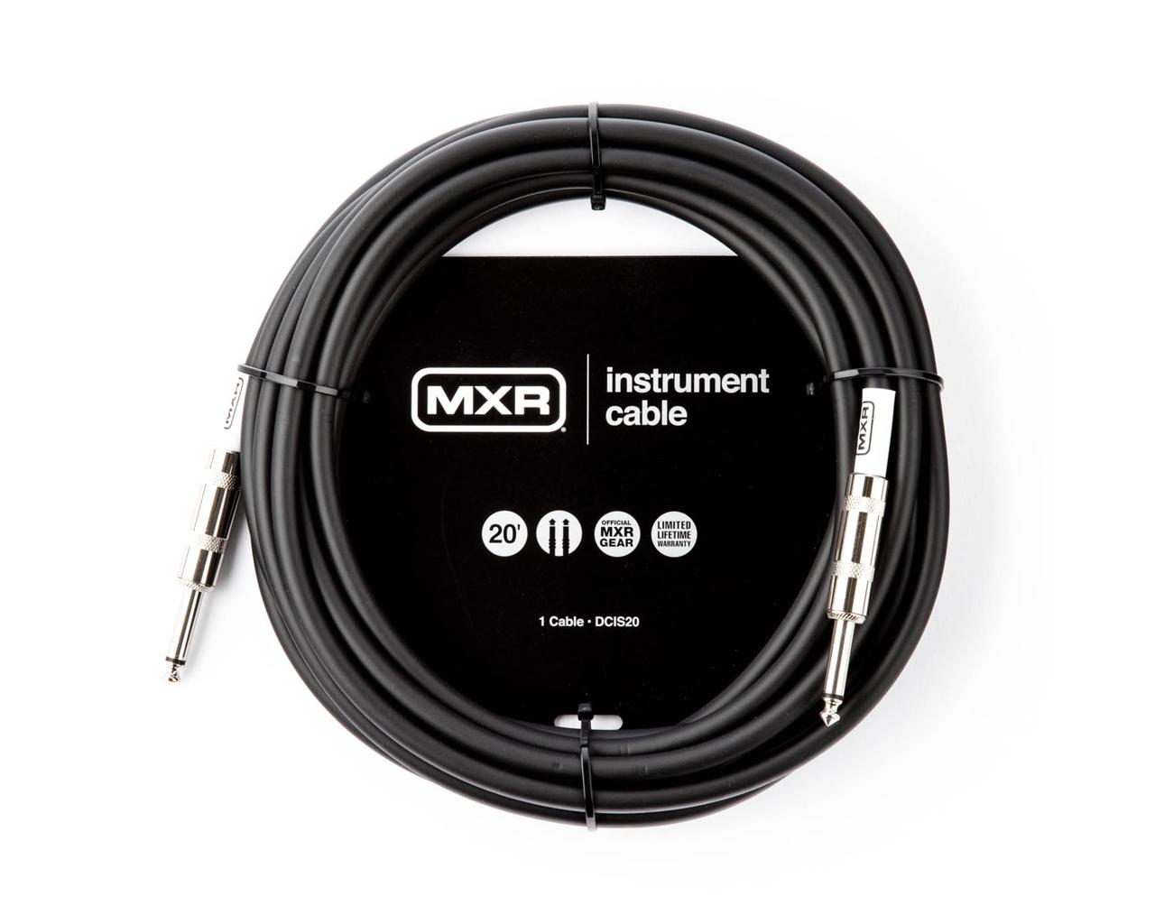 Cabo MXR Standard para Instrumentos de 3m com Plug P10 Reto/Reto  - GuitarParts Brasil