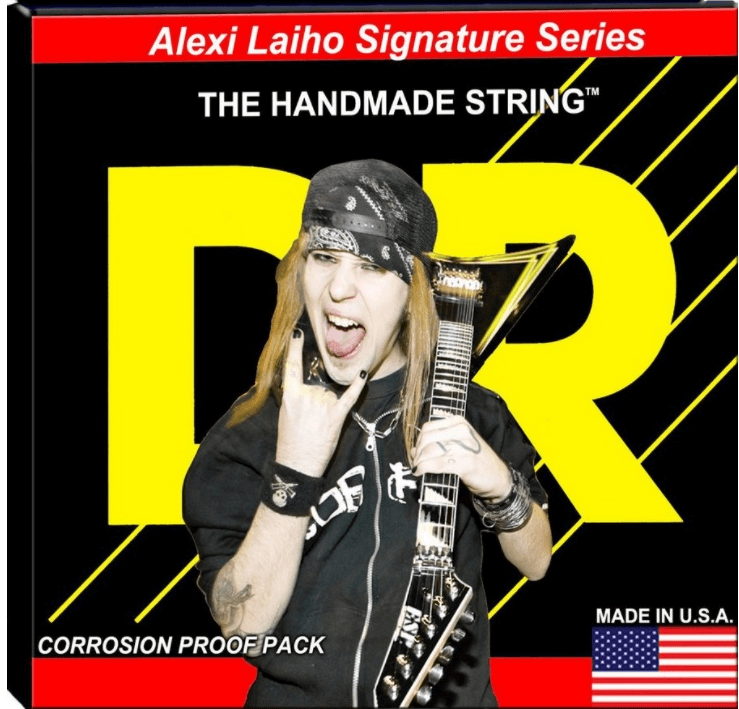 Encordoamento DR Strings Alexi Laiho Signature 10-46