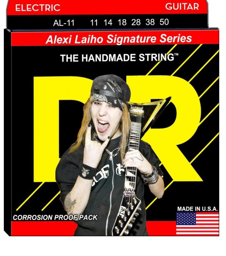 Encordoamento DR Strings Alexi Laiho Signature 11-50