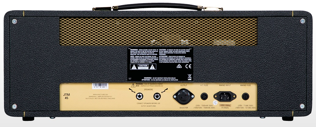 Marshall JTM45 2245 30-watt Plexi Tube Head  - GuitarParts Brasil
